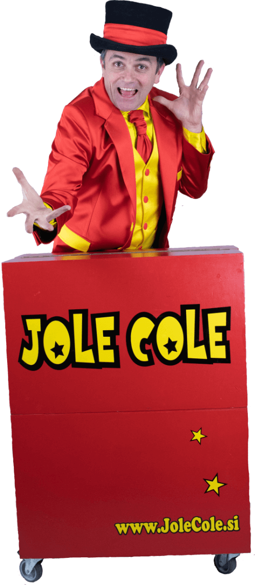 Čarovnik čarodej Jole Cole